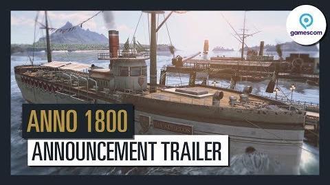 Anno 1800 - Offizieller Ankündigungs-Trailer - Gamescom 2017 Ubisoft DE
