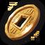 Icon coin rare 0