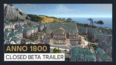 ANNO 1800 CLOSED BETA TRAILER