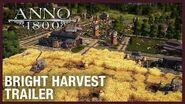 Anno 1800 Bright Harvest DLC Trailer Ubisoft NA