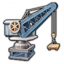 Railway Repair Crane