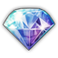 Icon gem diamond 0