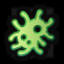 Icon illness chance green 0