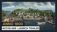 ANNO 1800 ACCOLADE LAUNCH TRAILER