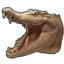 Icon albino crocodile 0