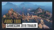 ANNO 1800 GAMESCOM 2018 TRAILER