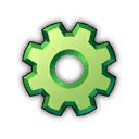 Icon productivity green 0
