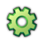Icon productivity green 0