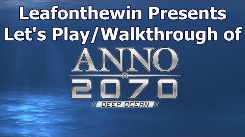 Anno 2070 Let's Play Walkthrough - Continuous Game - Part 1