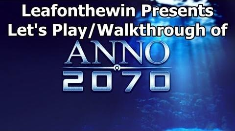 Anno 2070 Let's Play Walkthrough Global Event - The Eden Project - Mission 1 The Formers