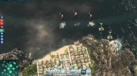 ANNO2070 Deep Ocean, tsunami!