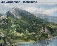 Die Jorgensen-Hochebene