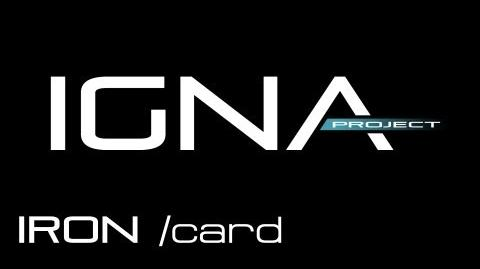 IRON card - Anno 2070 Deep Ocean IGNA 17