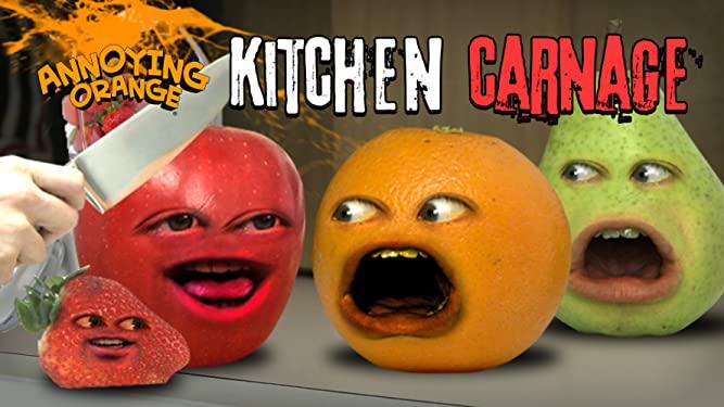 Annoying Orange Kitchen Carnage Annoying Orange Wiki Fandom