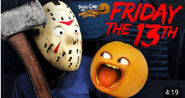 Storytime Friday the 13th title card