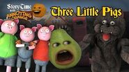 Annoying Orange - Storytime 3 The Three Little Pigs