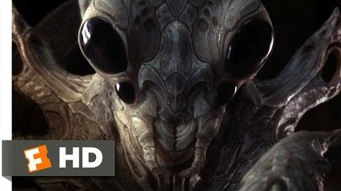 Ender's Game (10 10) Movie CLIP - The Hive Queen (2013) HD