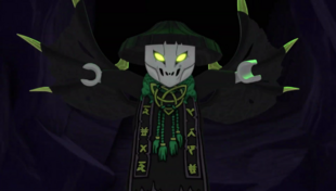 Als Totenkopf-Zauberer
