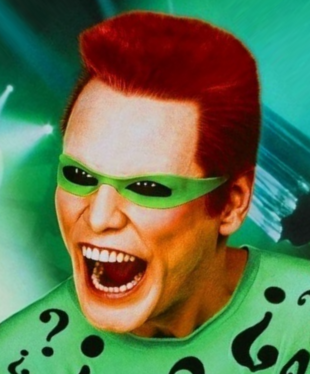 Jim Carrey als Edward 'Der Riddler' Nygma