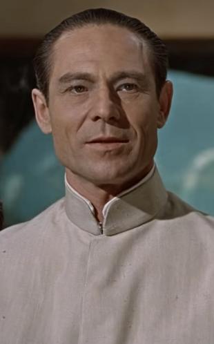 Joseph Wiseman als Dr. Julius No (1962)