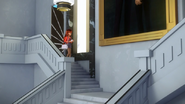 Lila walking out of Adrien's room