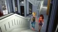 Lila and Adrien step up to his room