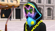 Timetagger with his mask