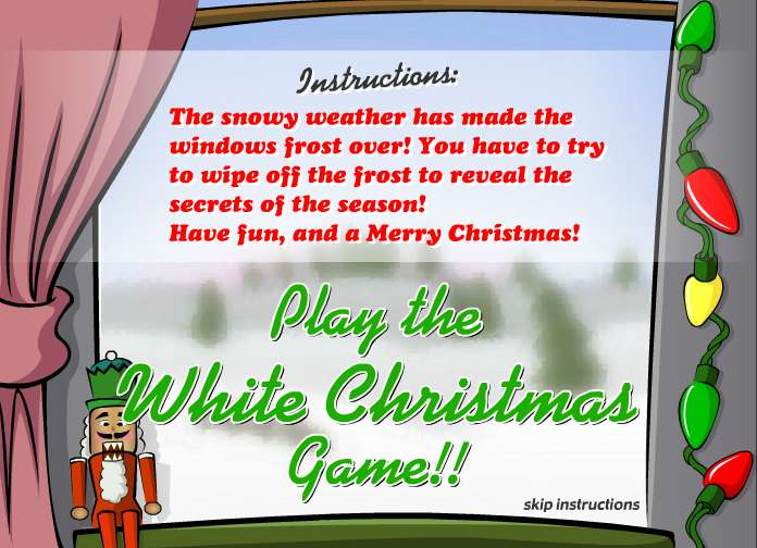 White Christmas Game