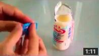 Mentos + Yogurt = ??