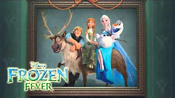 Frozen Fever scary pop up
