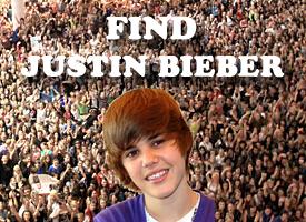 Find Justin Bieber