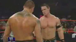 Randy Orton and John Cena Kiss.