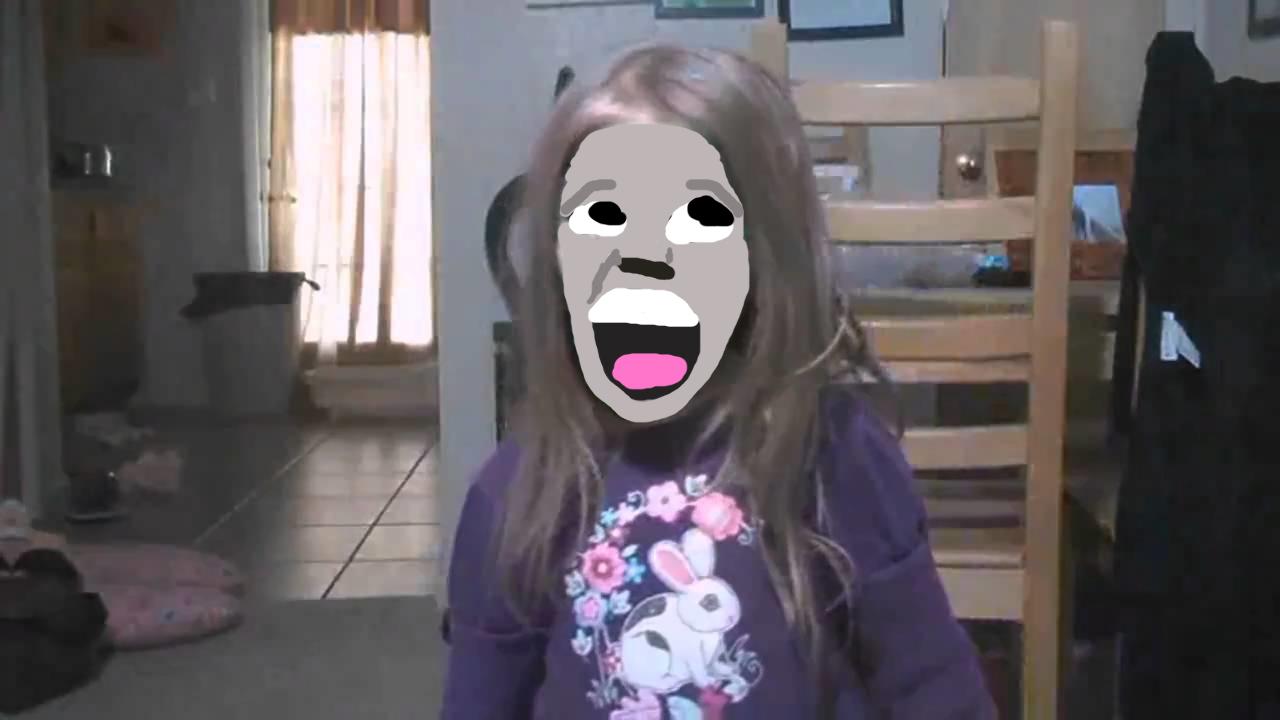 Maya's Scary Face