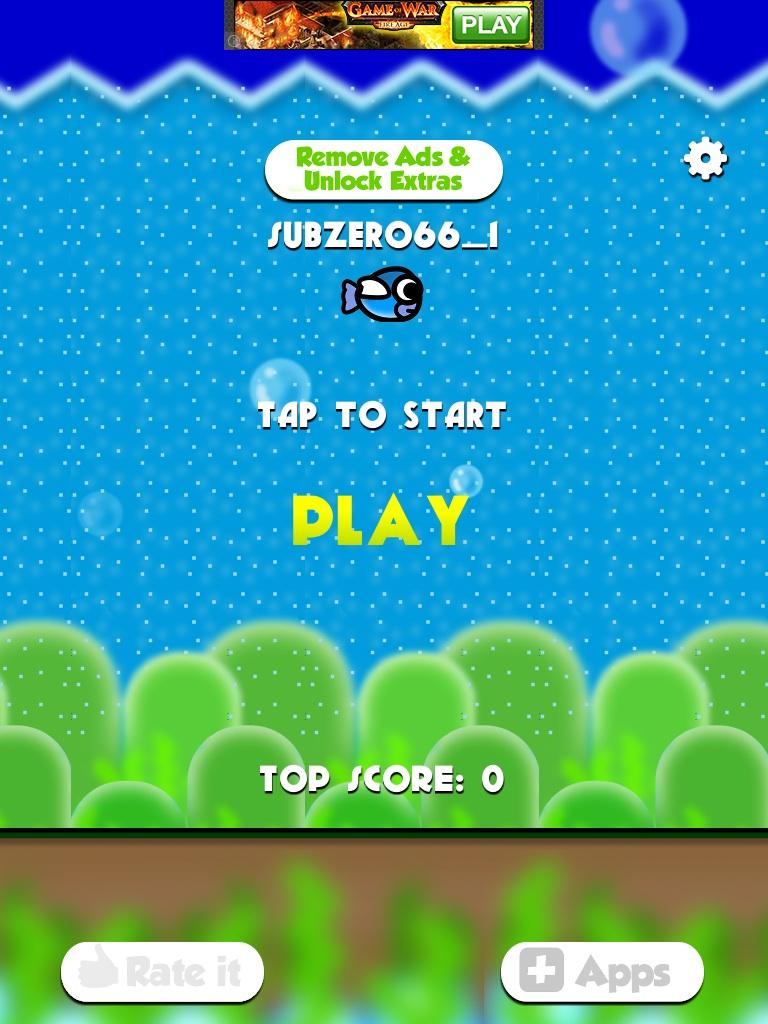 Scary Bird - Flappy Game Prank