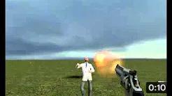 Garrys Mod 10 Прикол (Человек-наоборот)