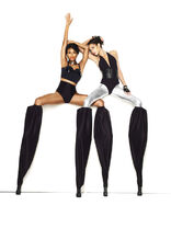Camille and Isis Stilts shoot