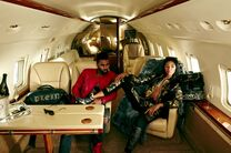 Tatiana Price Luxury Jet-setters shoot