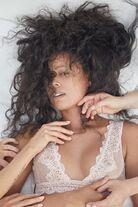 Erin Green Raw beauty lingerie shot
