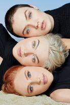 Brenda, Khrystyana and Liberty Stacked Beauty shot