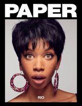 Rio Summers Paper magazine cover
