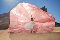 Erin Green Paper parachute shoot