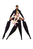 Bre and Laura Stilts shoot