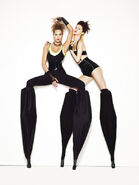 Dominique and Kayla Stilts shoot