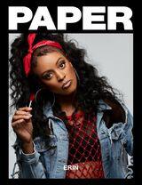 Erin Green Paper magazine cover