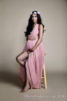 Sandra Shehab Bohemian Pregnant Editorial