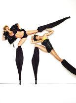 Bianca and Lisa Stilts shoot