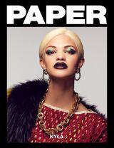 Kyla Coleman Paper magazine cover