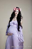 Kyla Coleman Bohemian Pregnant Editorial