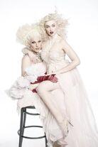 Khrystyana Kazakova Drag queens shoot