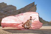 Shanice Carroll Paper parachute shoot